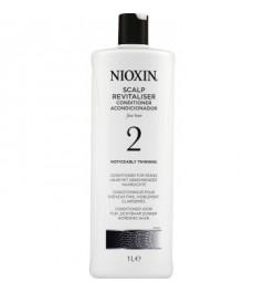 Conditionneur pour cheveux fins. Visiblement clairsemés. NIOXIN 2 1000ml