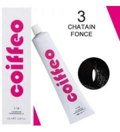 COIFFEO 3 CHÂTAIN FONCÉ 100 ML
