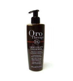 Masque colorant chocolat Oro therapy CIOCCOLATO 250ml
