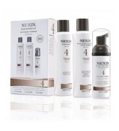 Kit soin Nioxin N°4 cheveux visiblement clairsemés fins et sensibilisés