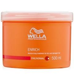 Enrich traitement hydratent pour cheveux fins à normaux WELLA 500ml