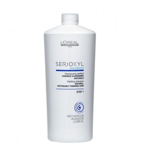 Shampoing clarifiant Serioxyl Cheveux clairsemés naturels 1000 ml