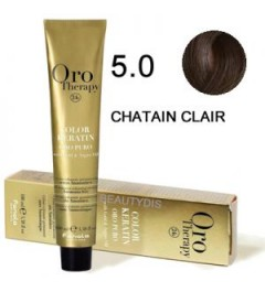 OROTHERAPY COLORATION N°5.0 CHÂTAIN CLAIR 100 ml