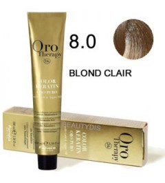 OROTHERAPY COLORATION N°8.00 BLOND CLAIR INTENSE 100 ml