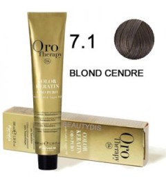 OROTHERAPY COLORATION N°7.1 BLOND CENDRÉ 100 ml 100 ml