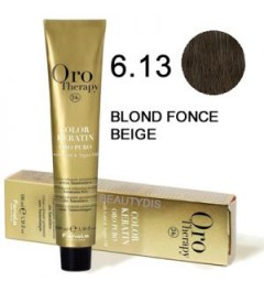 OROTHERAPY COLORATION N°6.13 BLOND FONCÉ BEIGE 100 ml