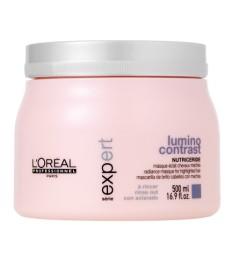 Masque L'Oréal LUMINO CONTRAST CHEVEUX MÈCHÉS 500 ML