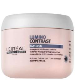 Masque L'Oréal LUMINO CONTRAST CHEVEUX MÈCHÉS 200 ML