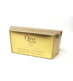 Lotion concentré restructurant LOZINE ORO PURO Oro therapy 10ml contient 12 fiale
